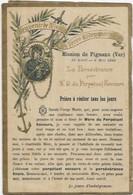 D 83. PIGNANS. MISSION DE PIGNANS  18 AVRIL 8 MAI 1898 - Autres Communes