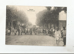 ROUIBA (ALGERIE) ROUTE PRINCIPALE (BELLE ANIMATION)  1919 - Andere Steden