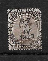 Belgique- Y&T N°136 - Le Roi Albert  Belle Oblitération LEOPOLDSBURG - C - BOURG LEOPOLD - 1915-1920 Alberto I