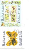 Papillons ( FDC Des Bahamas De 1975 à Voir) - Schmetterlinge