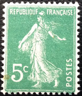 N° 137  NEUF ** SANS CHARNIÈRE ( LOT:29 ) - 1906-38 Semeuse Con Cameo
