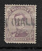 Belgique- Y&T N°139 - Le Roi Albert  Belle Oblitération HALLE - 1915-1920 Albert I