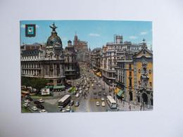 MADRID  -  Avenida José Antonio     -  ESPAGNE - Madrid
