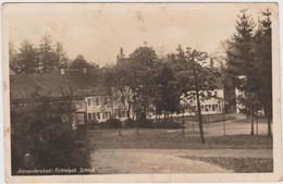 Vintage Alexandersbad Bavaria Germany 1944 Postcard - Wunsiedel