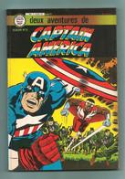 Album Captaine America N° 5 - Artima Color Marvel Super Star - Contient Les N° 18 & 19 - Editions Arédit - TBE / Neuf - Arédit & Artima