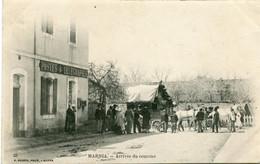 MARNIA - ARRIVEE Du COURRIER - BEAU CLICHE - Andere Steden