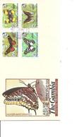 Papillons - WWF ( FDC De Gambie De 1988 à Voir) - Schmetterlinge