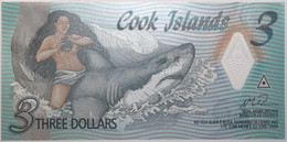 Cook - 3 Dollars - 2021 - PICK 11a - NEUF - Cook Islands