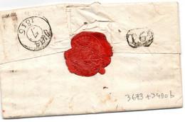 Nom Révolutionnaire De Saint-Marcellin(Isère)Thermopyles-2 Doc Avec Devise-GUERRE AUX TYRANS,PAIX AUX CHAUMIERES - Historical Documents