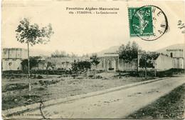 TURENNE  AIN SEBRA - LA GENDARMERIE  - CLICHE RARE - - Andere Steden