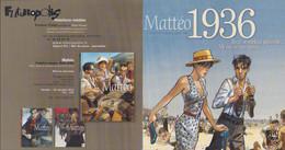 GIBRAT : Plaquette Presentation De MATTEO 1936 - Dossiers De Presse