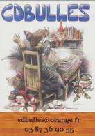 HAUSMAN : Carte CDBULLES - Postcards