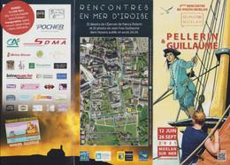 PELLERIN : Depliant Exposition à MOELAN - Autres Objets BD
