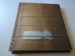 30 Lindner Blätter Glasklar Für MH (18160) - Vierges