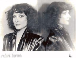 PHOTO PRESSE 18X24 / MIMI LORCA - CHANTEUSE 1980 - Famous People