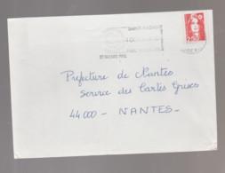 Flamme Dpt 44 : ST NAZAIRE Ppal (SCOTEM N° 12??? Du ??/08 => 04/10/1992) : Fêtes De La Mer Août 1991 - Mechanical Postmarks (Advertisement)