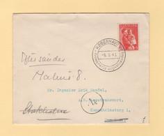 Danemark - 1943 - Aide A L Enfance - Copenhague Destination Oslo - Censure - Brieven En Documenten