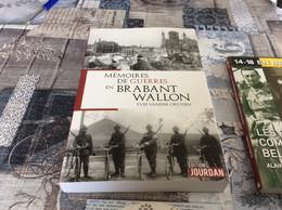 ♥️ BELGIQUE Brabant Wallon  Militaria LOT De2 Livres  16 € Port Compris Mondial Relay - Weltkrieg 1914-18