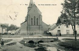 PIN - Vue Prise Derrière L'Eglise - Chiny