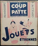 1931 Revue LE COUP DE PATTE N° 33 -  Alain SAINT OGAN - POULBOT - SENNEP - GUERIN  - BIB - CHAMPIGNY SÛR MARNE - Non Classés