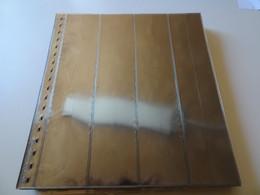 25 Lindner Blätter Glasklar Für 11er Streifen (18161) - Vierges