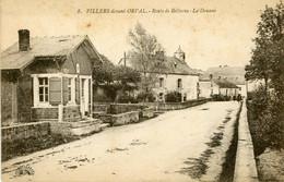 VILLERS Dvt ORVAL - Route De Bellevue - La Douane - Florenville