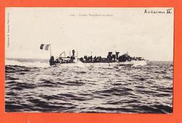AAJ187 ⭐ Peu Commun L' AUDACIEUX II Contre-Torpilleur En Essais Collection H LAURENT Port-Louis 2565 - Guerra