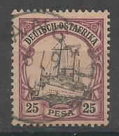 Deutsch-Ostafrika 17 Gest. Tanga - Colony: German East Africa