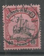 Deutsch-Ostafrika 18 Gest. Lindi - Colony: German East Africa