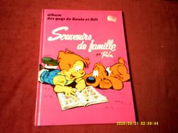 BOULE ET BILL  ALBUM  N° 16   SOUVENIR DE FAMILLE - Boule Et Bill