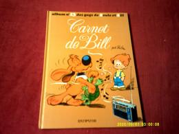BOULE ET BILL  ALBUM  N° 13  CARNET DE BILL - Boule Et Bill