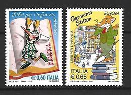 Timbre Europa  Italie   En Neuf ** N 3137/3138 - 2010