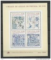 1983 MNH Portugal,  Postfris - Hojas Bloque