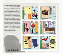 Italia - 2000 - Foglietto Design Italiano - 6 Valori - Nuovi ** - (FDC32081) - Blocks & Sheetlets