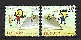 Timbre Europa  Lituanie   En Neuf ** N 899/900 - 2010