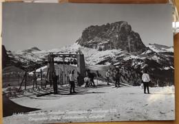 264) SASSOLUNGO CAMPI DA SCI TELECABINE VIAGGIATA 3.1.66 Val Gardena E La Val Di Fassa, BOLZANO TRENTO - Other Cities