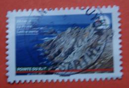 FRANCE 2021   CL068  DU CARNET   FRANCE  TERRE  DE  TOURISME  Pointe  Du  Raz   Cachet   ROND  ( A Voyagé ) - Usati