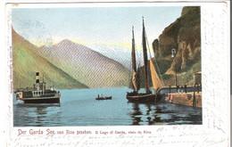 Der Garda See - Von Riva Gesehen.  V. 1904 (45558) - Other Cities