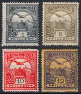 TURUL Crown MNH Hungary 1913 - WMK Watermark VII. 7. - 1 6 10 12 Fill - MH LOT - Neufs