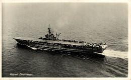 RPPC Karel Doorman  BOAT SHIP BATEAUX BARCOS GUERRE WAR - Guerra