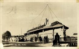 RPPC  Den Helder Hr Ms Buffel  BOAT SHIP BATEAUX BARCOS GUERRE WAR - Guerra