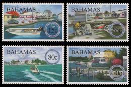 Bahamas 2000 - Mi-Nr. 1036-1039 ** - MNH - Boote / Boats - Bahama's (1973-...)