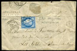 France  Oblitération Coulonges Sur L' Autize (79)  ,  1874 - 1849-1876: Klassieke Periode