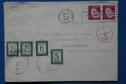 AB16 CANADA  BELLE LETTRE 1966   OTTAWA. POUR ANTILLEN NEDERLAND.+ PAIRE DE TP ET TAXES + AFFRANCH. PLAISANT - Briefe U. Dokumente