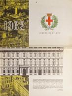 Calendario Da Parete - Comune Di Milano - 1962 - Non Classificati