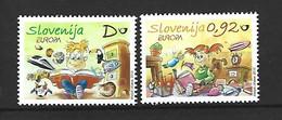 Timbre Europa  Slovénie    En Neuf ** N 703 / 704 - 2010