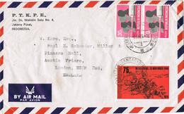 41836. Carta Aerea JAKARTA PUSAT (Indonesia)  1976 - Indonesia
