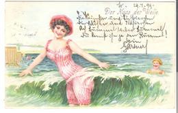 Der Kuss Der Welle  V. 1899 (45563) - Humour