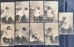 DC1693A - Lot Mädchen. Cpa Fille Douce, Nue, Bateau - Photographie