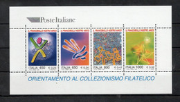 ITALIA - 1999 - Foglietto Orientamento Al Collezionismo Filatelico - 4 Valori - Nuovo **- (FDC32092) - Blocks & Sheetlets